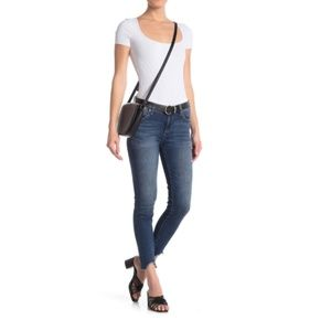 Kut From The Kloth Carlo Uneven Hem Skinny Jeans